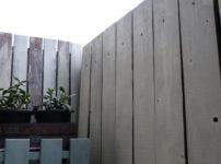 DIY板壁ウッドフェンス